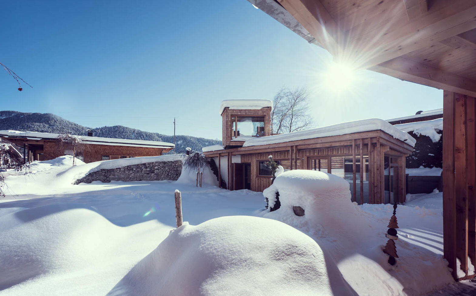Naturhotel Aufatmen im Winter in Tirol